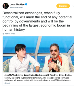 Captura de pantalla 2018 09 18 a las 13.16.34 264x300 - John McAfee Says Decentralized Exchanges Could Trigger an Economic Boom