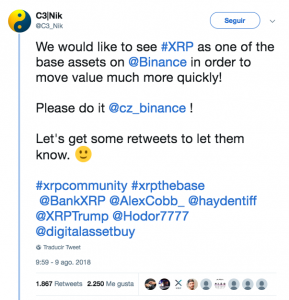 Captura de pantalla 2018 09 23 a las 11.49.22 289x300 - CoinField Cryptocurrency Exchange Might Use XRP as Base Currency