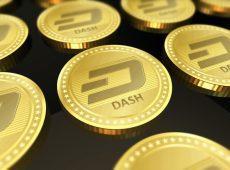 Dash coins golden value