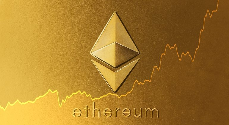 Ethereum rising scale in the crypto market