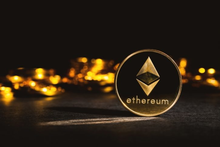 Gold Ethereum coins mining buy ethereum with debit card