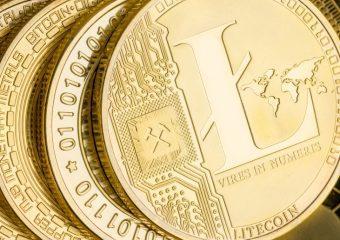 Litecoin gold closeup 340x240 - Litecoin Reducing Transaction Fees In Next Core Release