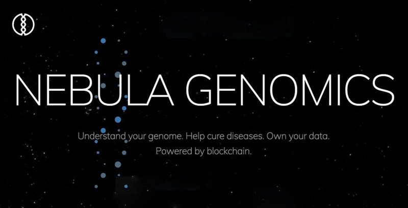 Nebula Genomics medical blockchain project