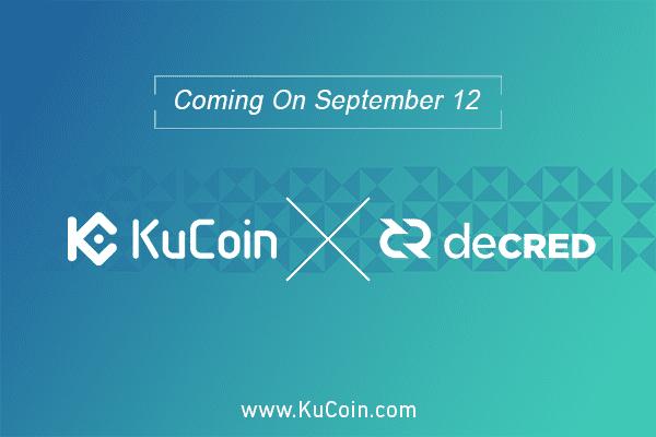 kucoin x decred partnership