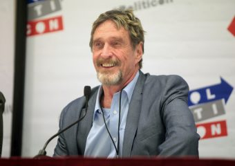 john mcaffe 340x240 - John McAfee Says Decentralized Exchanges Could Trigger an Economic Boom