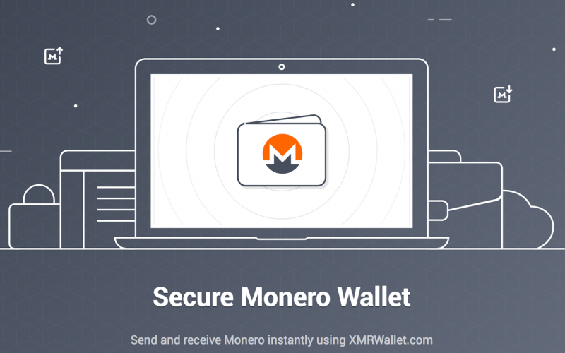 xmrwallet 800x500 - Tor-Based Monero Wallet Released by Top Provider