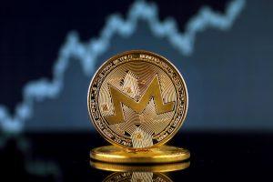 golden monero coin