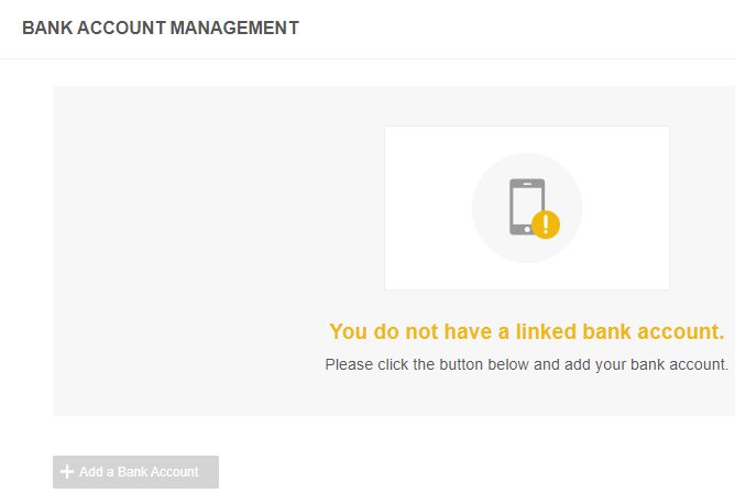 Link bank account Binance Jersey