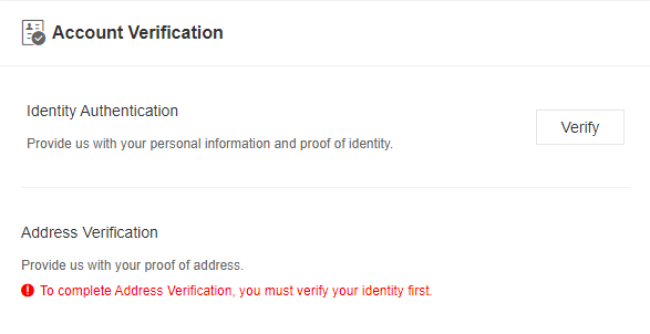 Verify account Binance Jersey