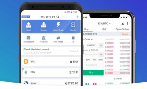 Cryptocurrency wallet for trx