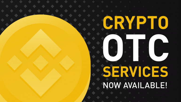 binance crypto otc services