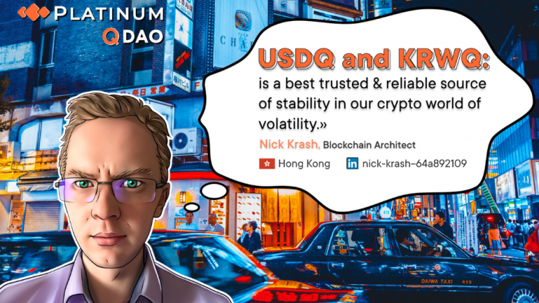 usdq and krwq stablecoins
