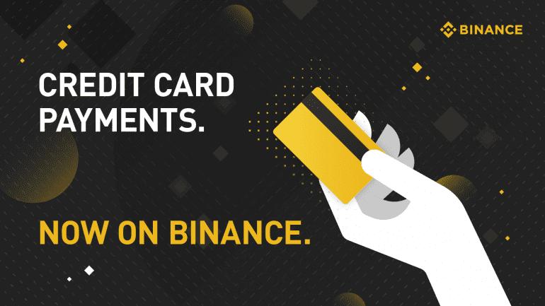 buy BTC with credit card on Binance