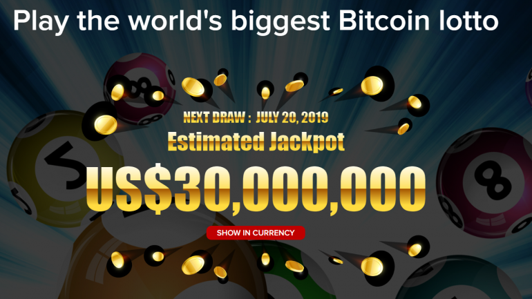 world biggest lotto with bitcoin image