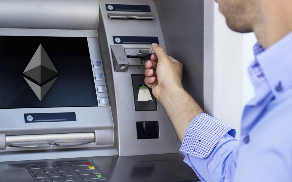 Buy Ethereum from ATM