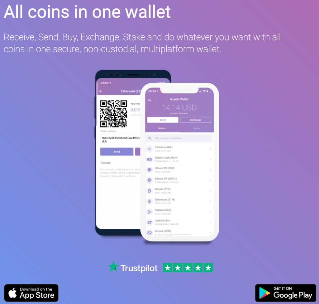 Guarda Cryptocurrency Wallet