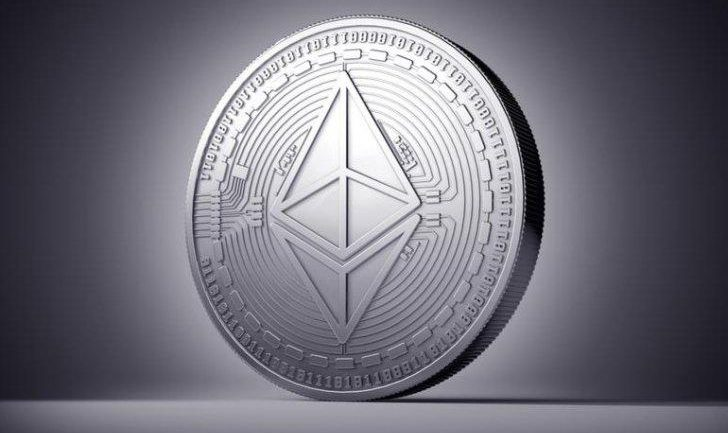 phisycal ethereum coin example