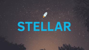 stellar lums logo on sunset skyline
