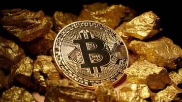 phisycal bitcoin on chumps of gold