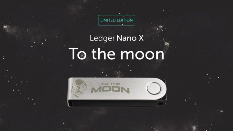 Ledger Nano X To The Moon Edition