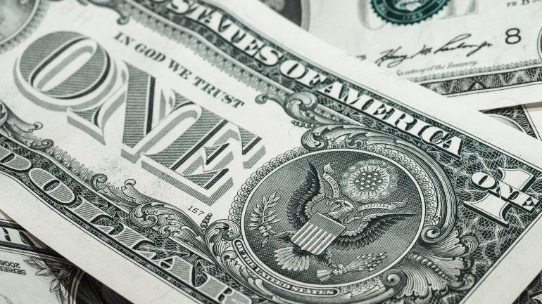 one usd dollar bill