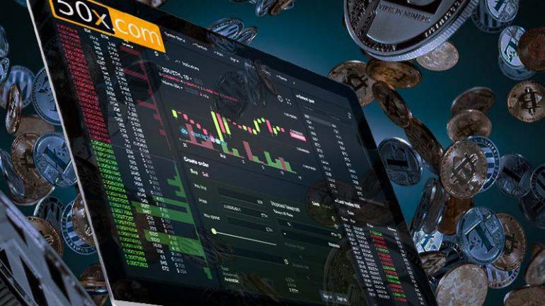 50x.com trading exchange interface