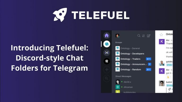 Telefuel Discord-style chat folders