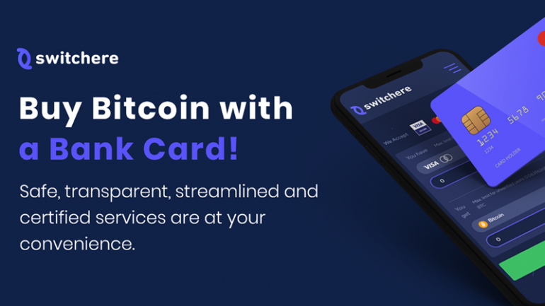 switchere buy bitcoin with bank card