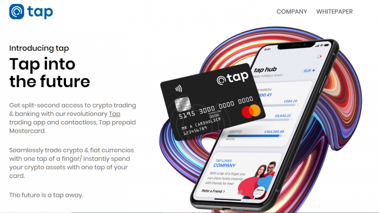 tap one stop shop crypto app