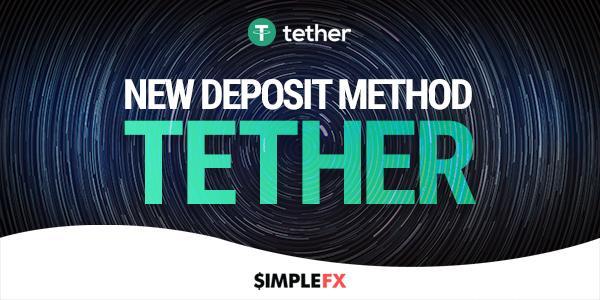simpledx add tether as a deposit method