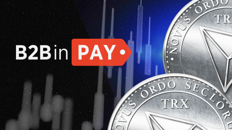 b2b pay with tron payments