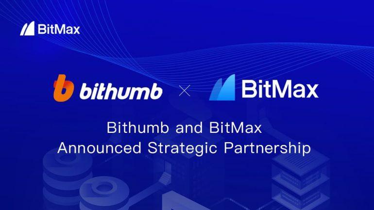bithumb and bitmax partnership