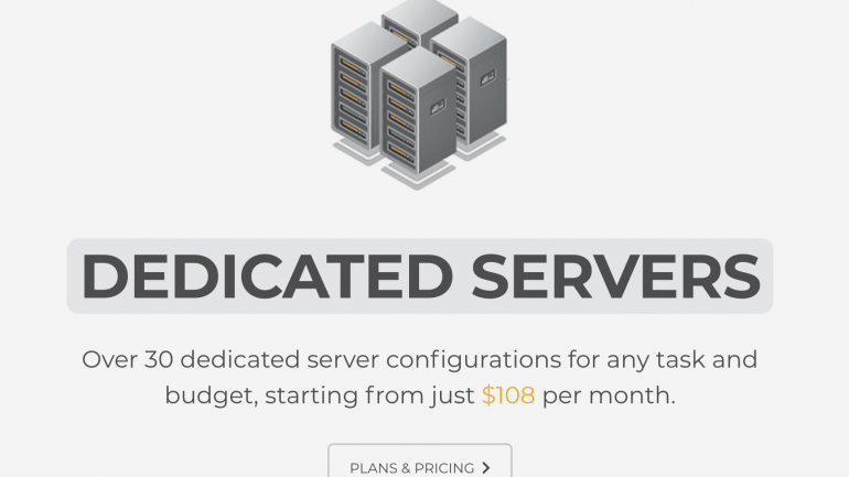 Dedicated servers from Coin.host