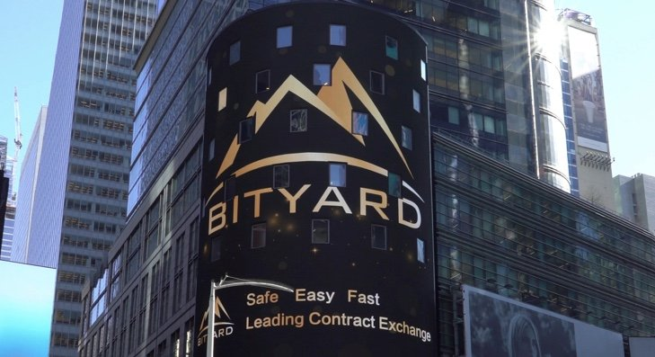 Bityard ad in New York