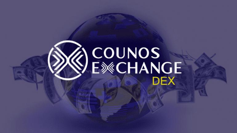 Counos exchange DEX logo