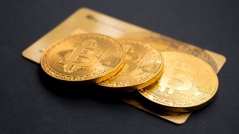 Bitcoins over a credit card