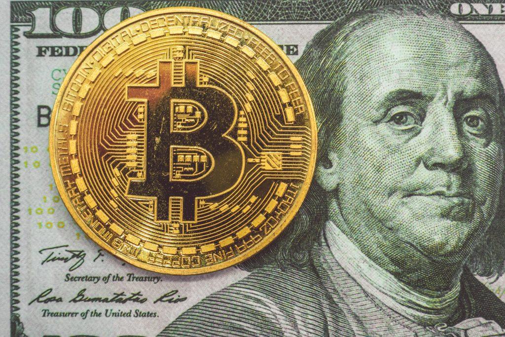 Bitcoin BTC USD Dollar