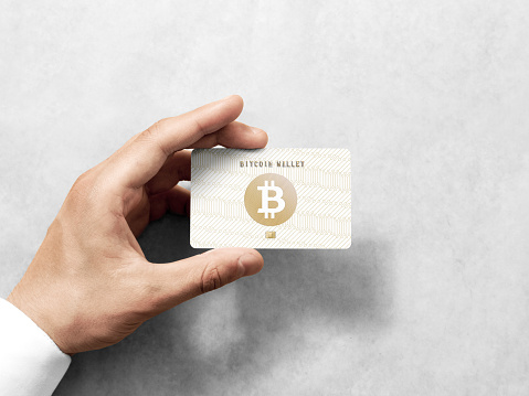 Bitcoin with prepaid card for wallet