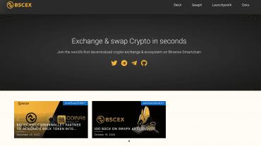 BSCex official website