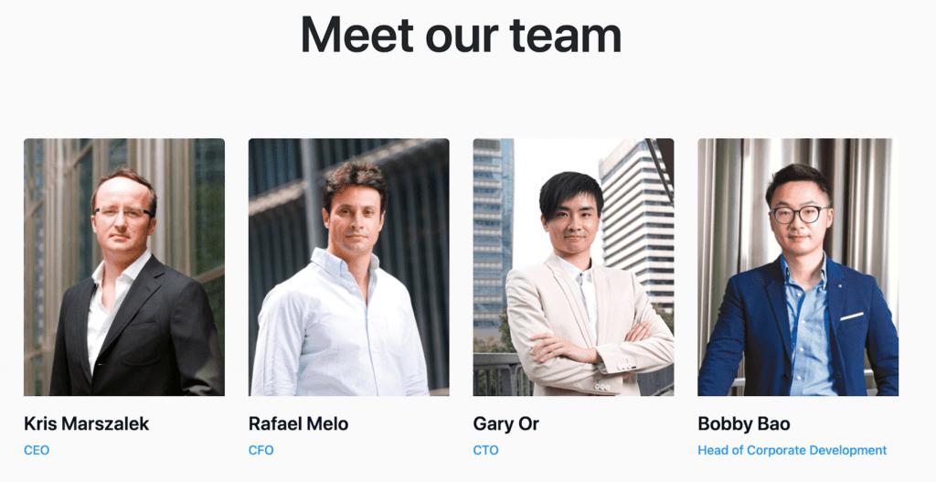 crypto.com team members