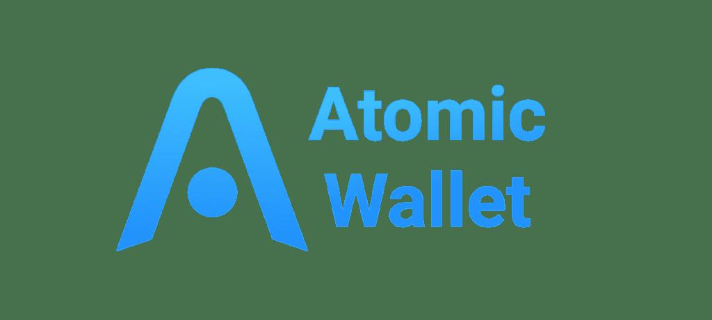 Logo Atomic Wallet, salah satu Dompet BCH terbaik