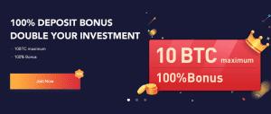 10 BTC BONUS
