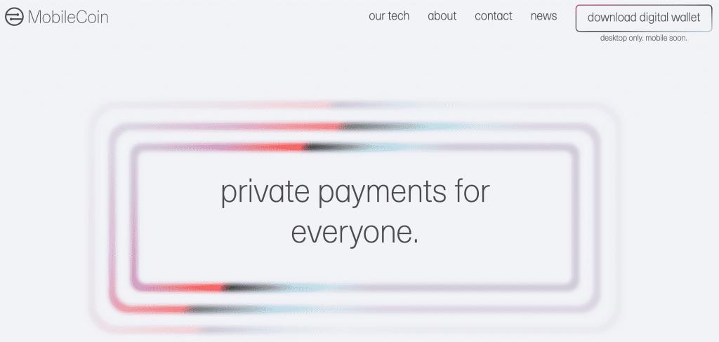 Gambar ICO Mobilecoin